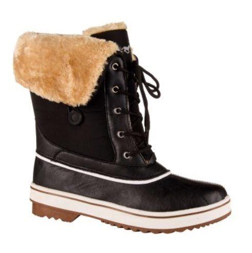HV Polo Winter boots Glaslynn zwart