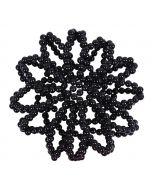 QHP Haarnetje Pearl zwart