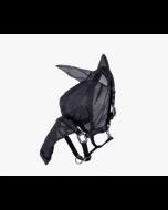 QHP Halster-vliegen oren neus zwart