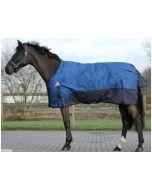 QHP Deken Turnout Luxe Fleece blauw