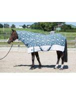 Harry's Horse Vliegendeken Mesh Pro Camo blauw wit