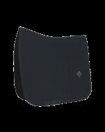Kentucky Zadeldek Fishbone Dressuur zwart