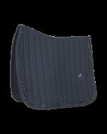 Kentucky Zadeldek Fishbone Dressuur glitter zwart