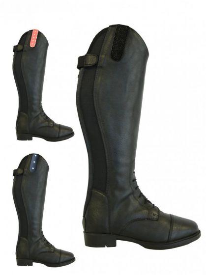 Rider Pro Rijlaars Tumba Leatherlook zwart
