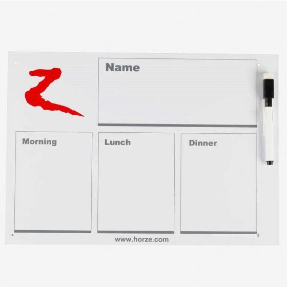 Horze Planning Whiteboard wit