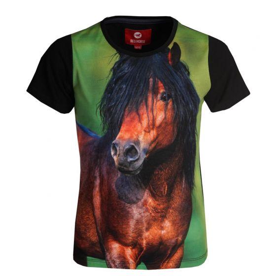 Red Horse T-Shirt Horsy granit