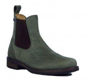Kingsley Schoen Amsterdam Waterproof green