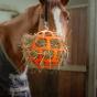 Hofman Hay Slowfeeder Fun Bal oranje